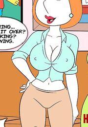 Порно мульт комиксы