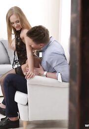Порно в гостях