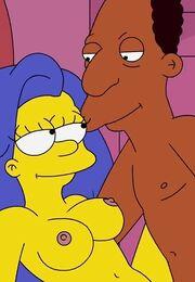 Порно мультики Симпсоны