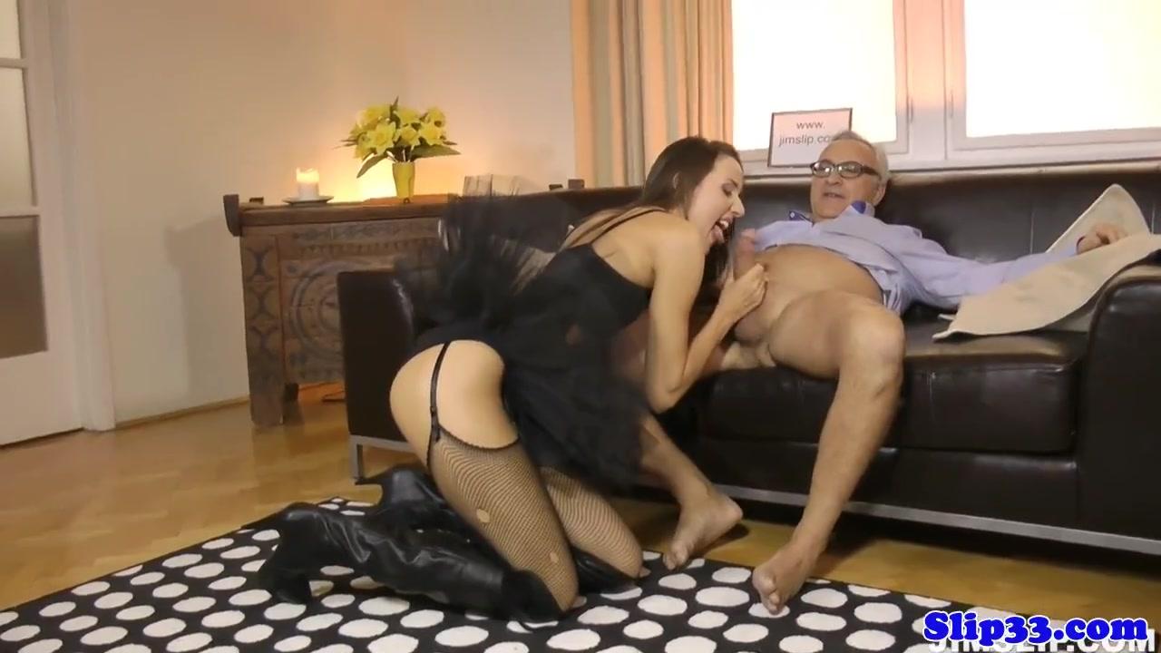 Секс со зрелой балериной