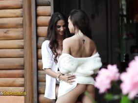 Русская лесбиянка поздравляет подругу — pic 12