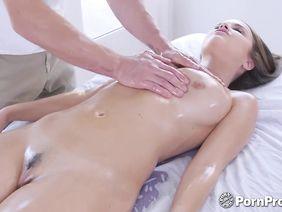 Как массировать грудь оргазм