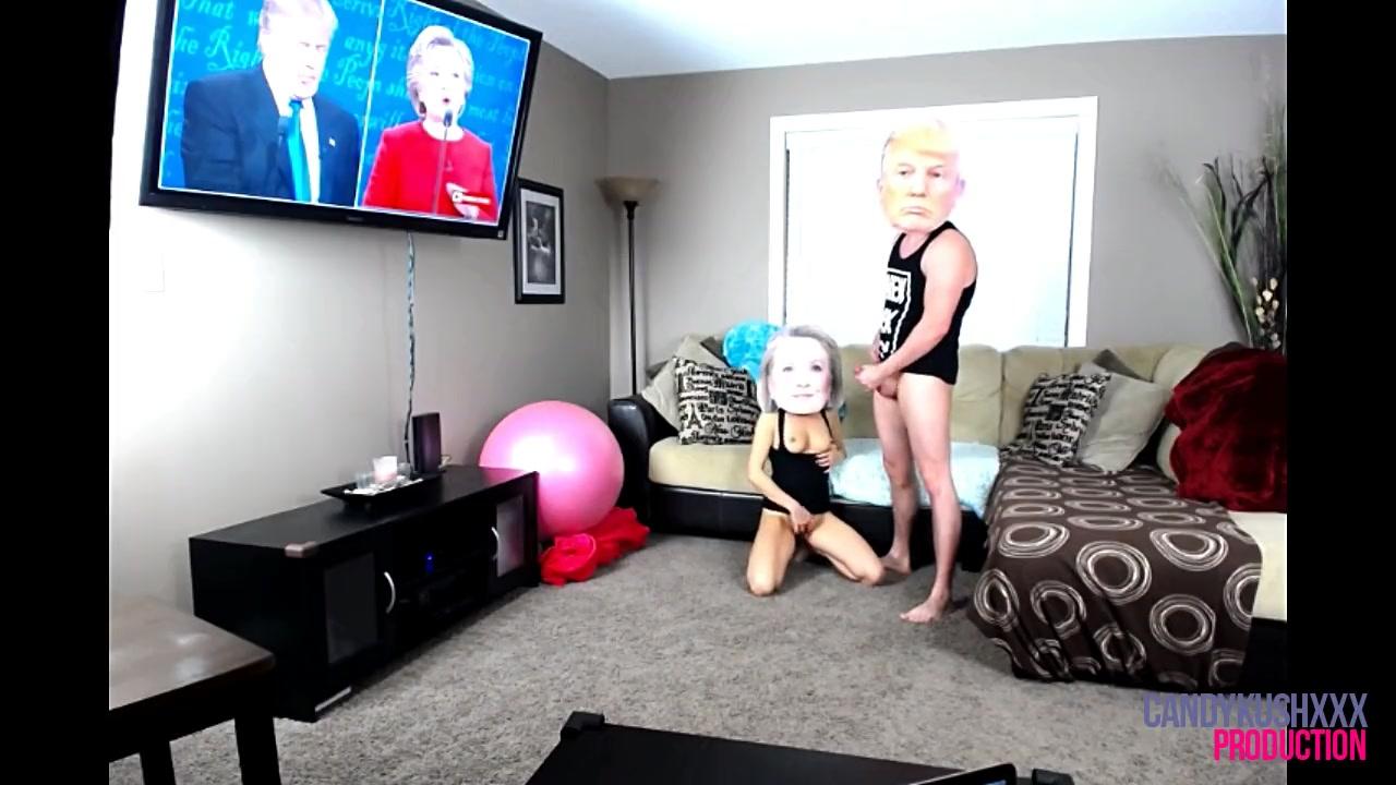 Клинтон на лице порно