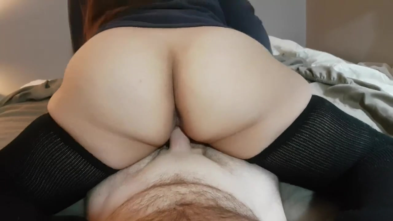 Смотреть порно жена села на хуй мужу